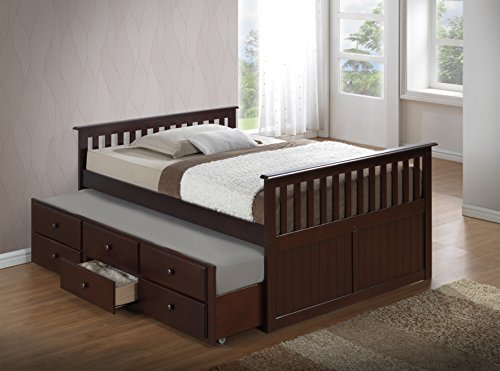 Double Bed For Kids Trundle
